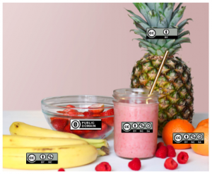 Fruit smoothie ingredients
