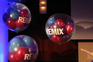 colorful remix balloons