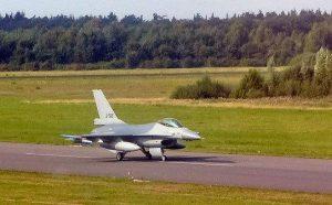 jet on runway